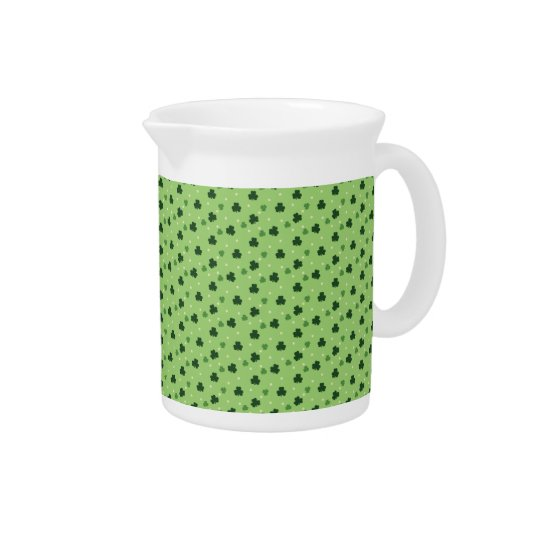 Shamrock Pattern Pitcher