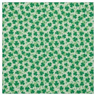 Shamrock pattern St Patricks day Fabric