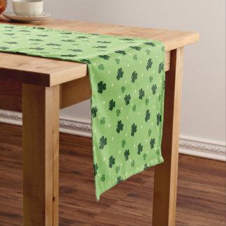 Shamrock Pattern Table Runner