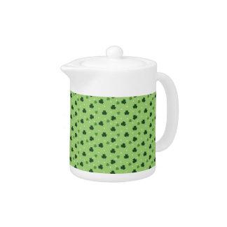 Shamrock Pattern Teapot