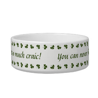Shamrock Pet Bowl
