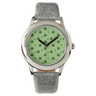 Shamrock Print Watch
