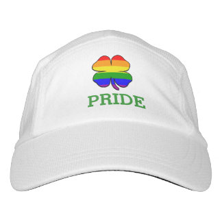 Shamrock Rainbow flag Gay Pride Headsweats Hat