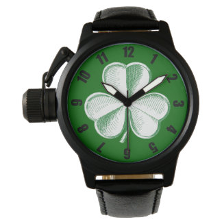Shamrock Sketch Watch