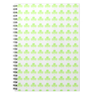 Shamrock Spiral Notebooks