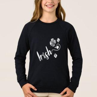 Shamrock. St. Patrick's Day. Irish Clover Sweatshirt