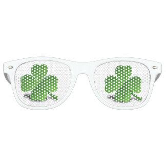 Shamrock • St. Patrick's Day Retro Sunglasses