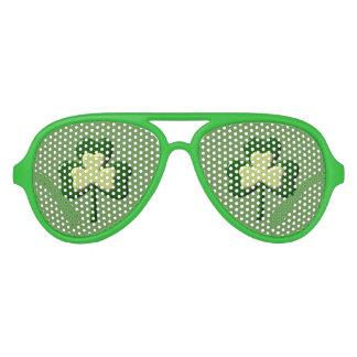 Shamrock St. Patrick's Day Sunglasses