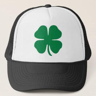 SHAMROCK ST PATRICK'S DAY TRUCKER HAT