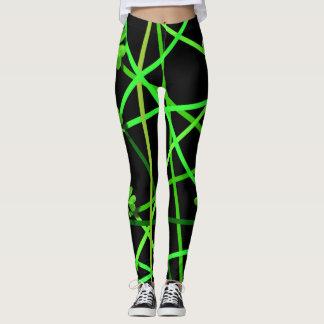 Shamrock stripes leggings