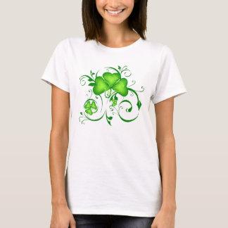 Shamrock Swirls T-Shirt