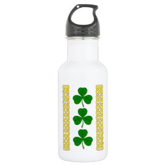 Shamrock Trio and Knotwork Bands 532 Ml Water Bottle