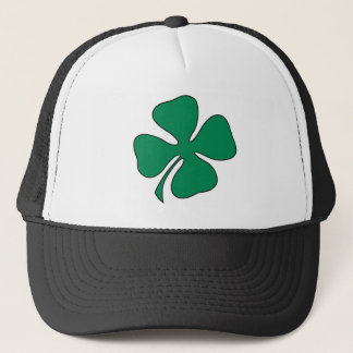 shamrock trucker hat