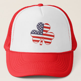 Shamrock USA Trucker Hat
