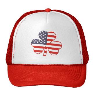 Shamrock USA Trucker Hat