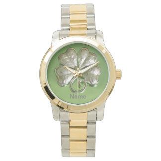 Shamrock Watch! Irish Watch! Add Name! Watch