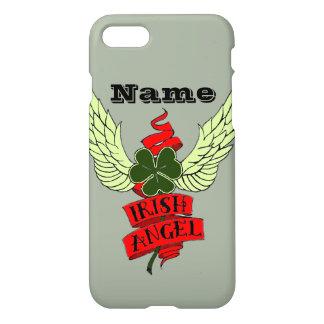 Shamrock with Wings Irish Angel Custom iPhone 8/7 Case