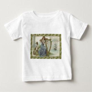 Shamrock Woman Harp Ship Tower Irish Setter Baby T-Shirt