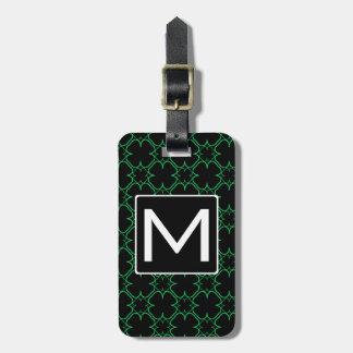 Shamrocked Mono Gram Luggage Tag