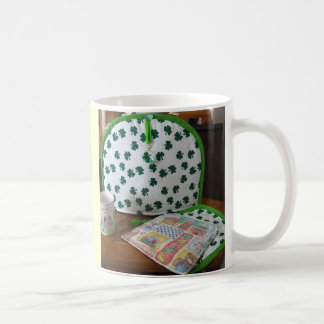 Shamrocks All Around Coffee and Tea Mug