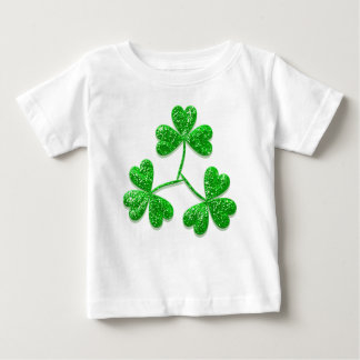 Shamrocks baby shirt