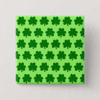 Shamrocks Button
