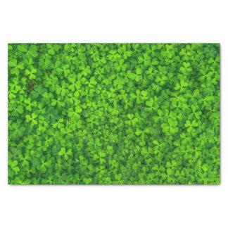 Shamrocks Clover Leaves St. Patrick's Day Festive Tissue Paper