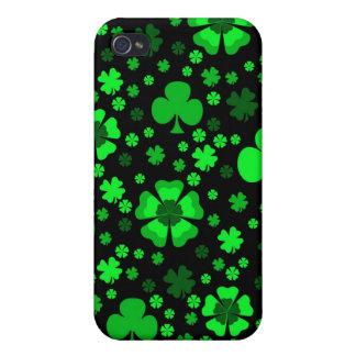 Shamrocks & Clovers iPhone 4 Cover