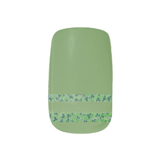 Shamrocks Design Minx Nail Art