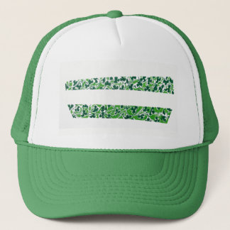 Shamrocks Design Trucker Hat
