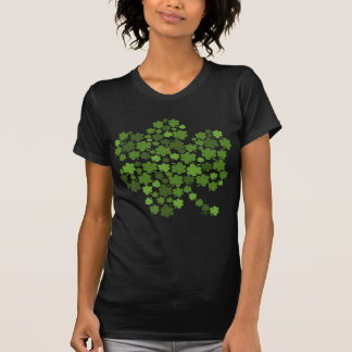 Shamrocks In A Shamrock T-Shirt