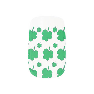 Shamrocks Minx Nail Art