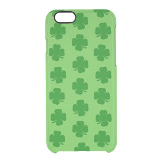 Shamrocks O'Galore Clear iPhone 6/6S Case