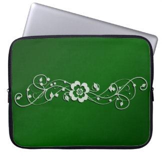 Shamrocks on the Vine Laptop Sleeve