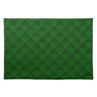 Shamrocks Pattern Placemat
