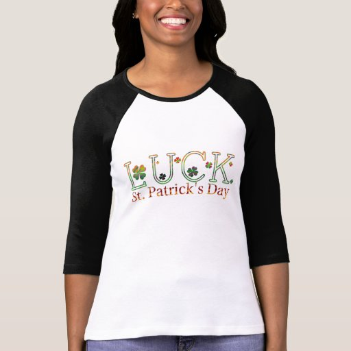 Shamrocks, St-Patty's Day Irish Luck, Women's Tee