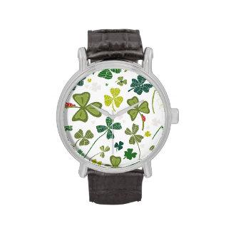 Shamrocks Wrist Watches