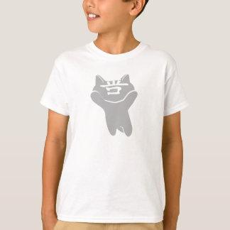 SHAN CAT WHITE T-SHIRT