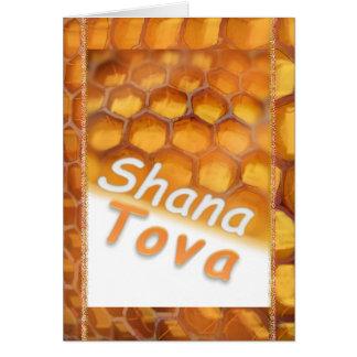 Shana-Tova Honey drawing Happy Rosh HaShana Card