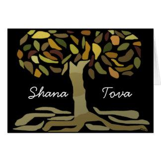 Shana Tova Tree of Life Card