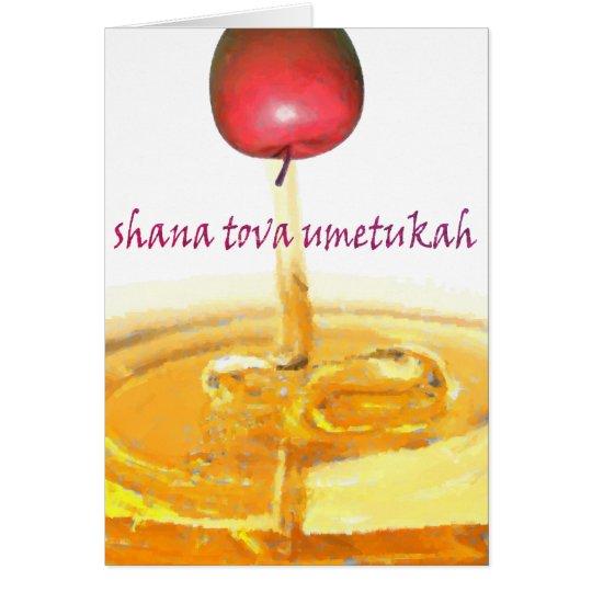 Shana Tova Umetukah Card