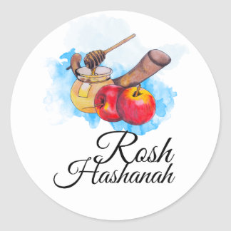Shana Tufa/Rosh Hashanah Classic Round Sticker