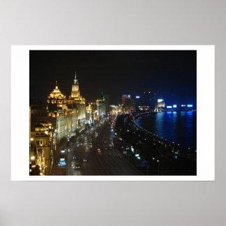 Shanghai Bund Poster