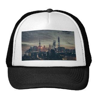 Shanghai by Night Trucker Hat