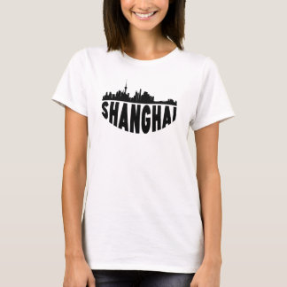 Shanghai China Cityscape Skyline T-Shirt