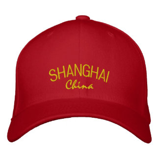 Shanghai China Embroidered Hat