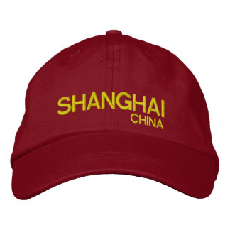 Shanghai China Personalized Adjustable Hat