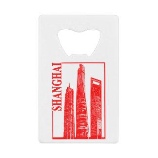 Shanghai Credit Card Bottle Opener