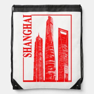 Shanghai Drawstring Bag