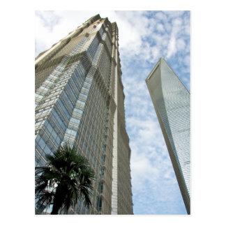 Shanghai Financial Tower and Jin Mao Tower Postcard